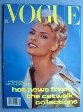 Vogue Magazine - 1991 - August